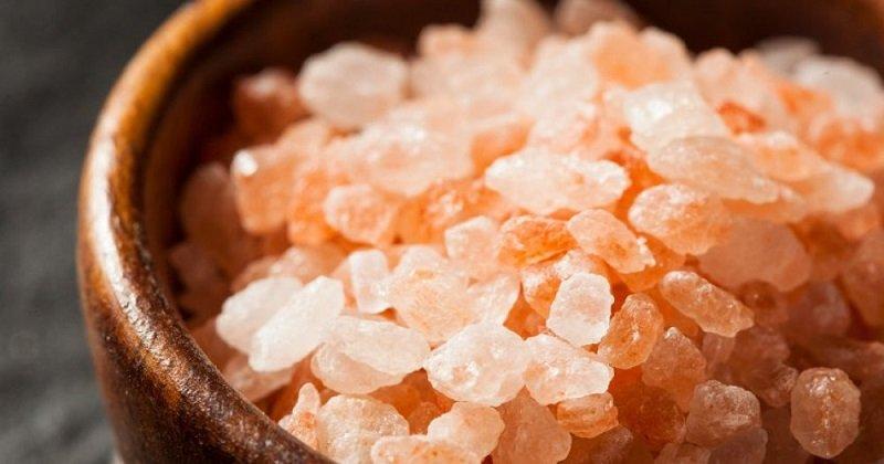 розовая соль польза
