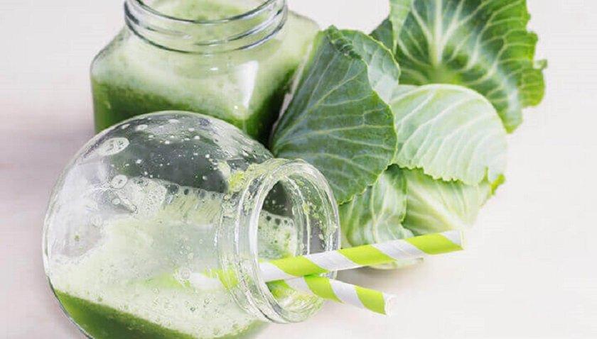 капустный сок помогает похудеть