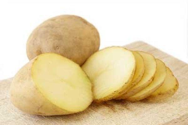 картофель под глаза