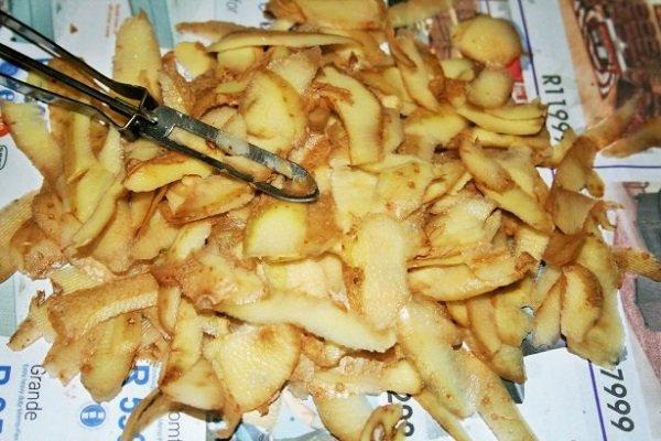 отвар картофельной кожуры