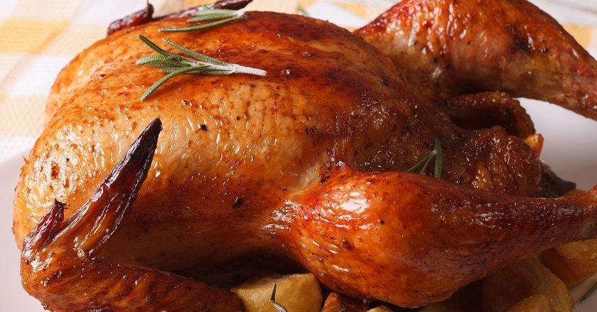 жареная куриная кожа