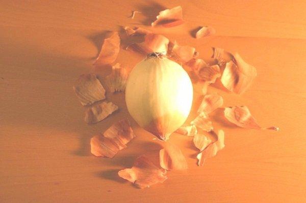 бульон с луковой шелухой