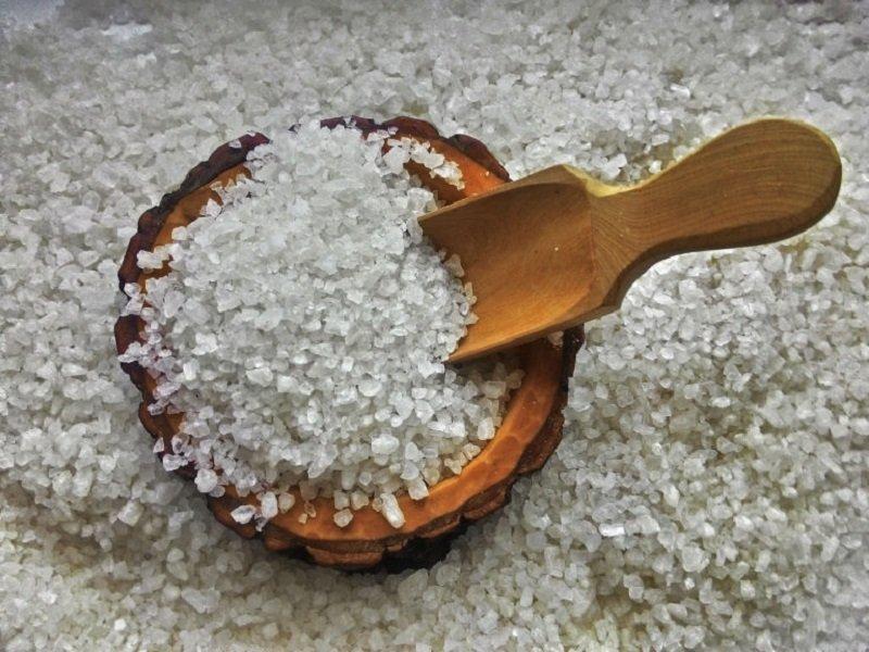 очищение морской солью