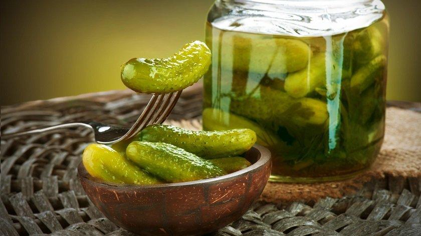 соленые огурцы богаты на витамины