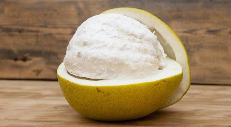 помело фрукт изображене