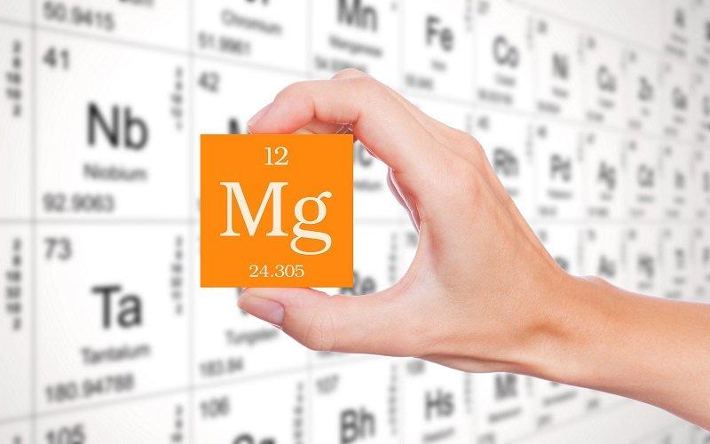 магний химический элемент фото