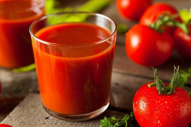 Korzyści z soku pomidorowego