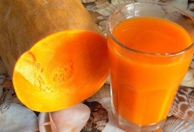тыквенный сок фото