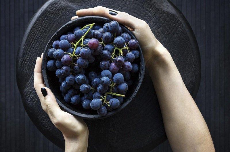 синий виноград для здоровья