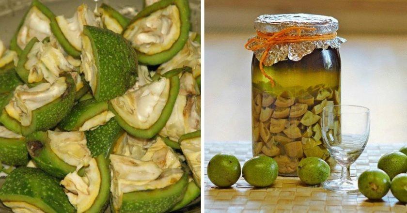 польза зеленых грецких орехов