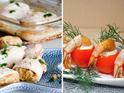 Праздничные блюда из морепродуктов