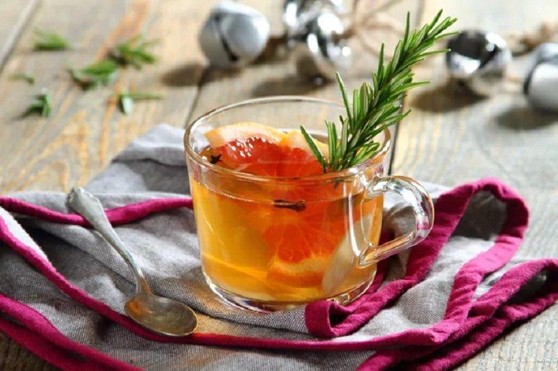 грейпфрутовый чай с имбирем