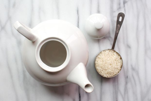 очистить чайник