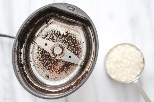 очистка кофемолки