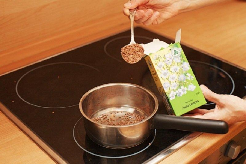 Похудение с зернами лена