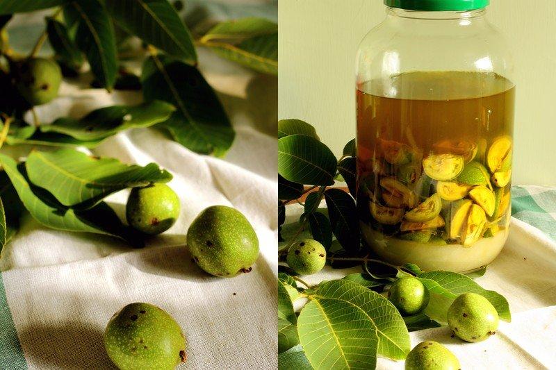 настойка из зеленого ореха рецепт