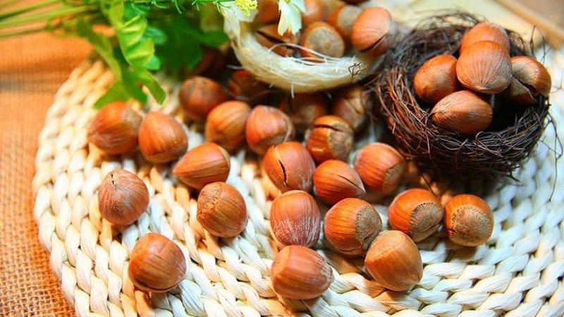 антиоксиданты в орехах