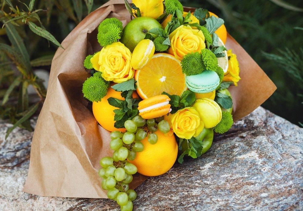 конфеты с фруктами