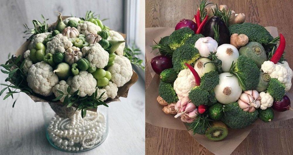 букет с овощами