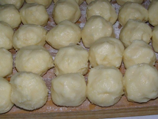 картофельное пюре в морозилке