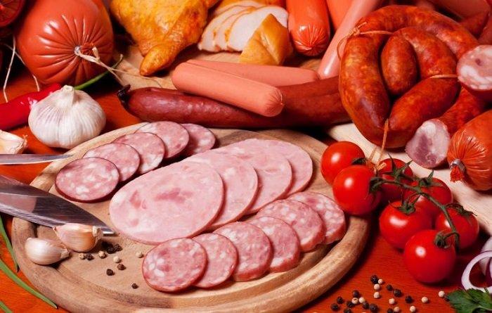 продукты вызывающие рак