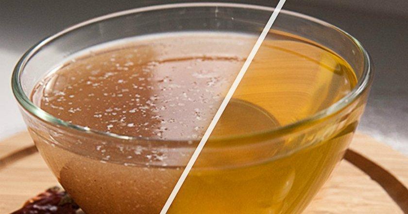 Как сделать бульон прозрачным для супа 440