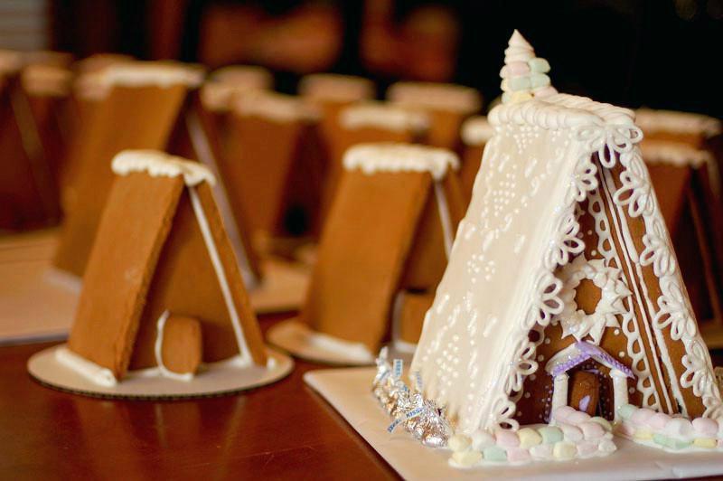 дизайн пряничного домика