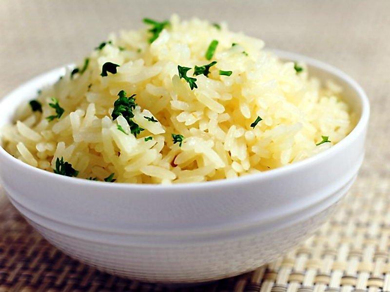 Отварной рис рецепт для гарнира пошагово с