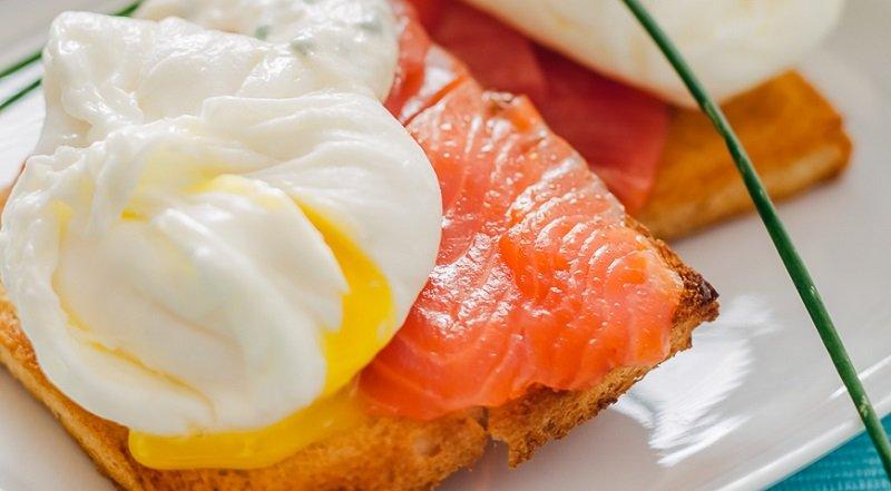 Jajka gotowane według przepisu Jean-Georgesa Vonzherishte