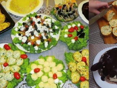 Рецепты блюд на день рождения