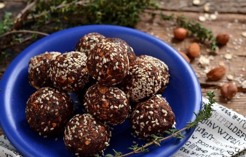 конфеты из кураги и орехов