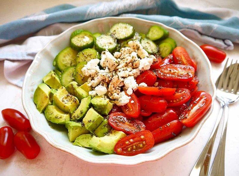 Салаты из авокадо рецепты с фото простые