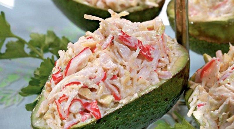 вкусные рецепты с авокадо