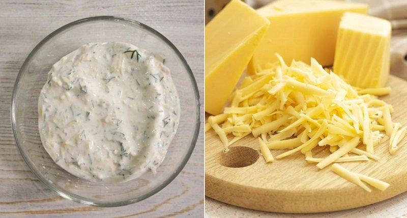 как приготовить соус с сыром