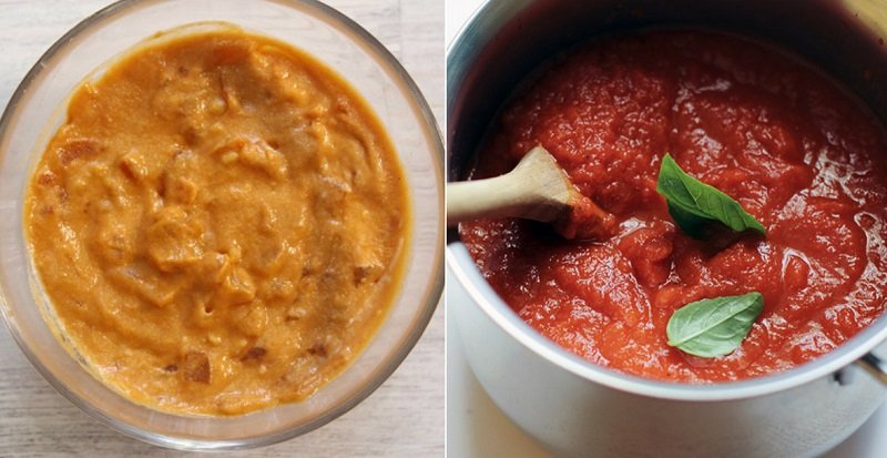 как приготовить соус с помидорами