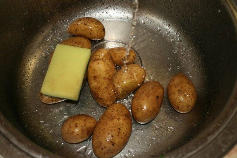 как приготовить картошку в мундире