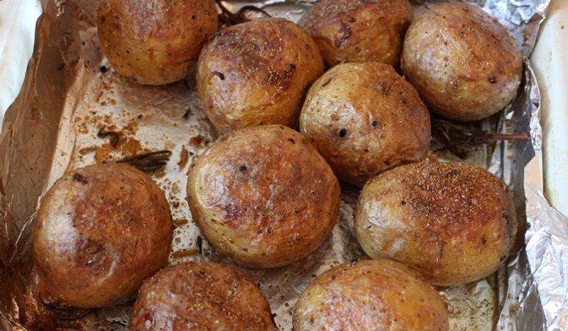 варианты запекания картофеля