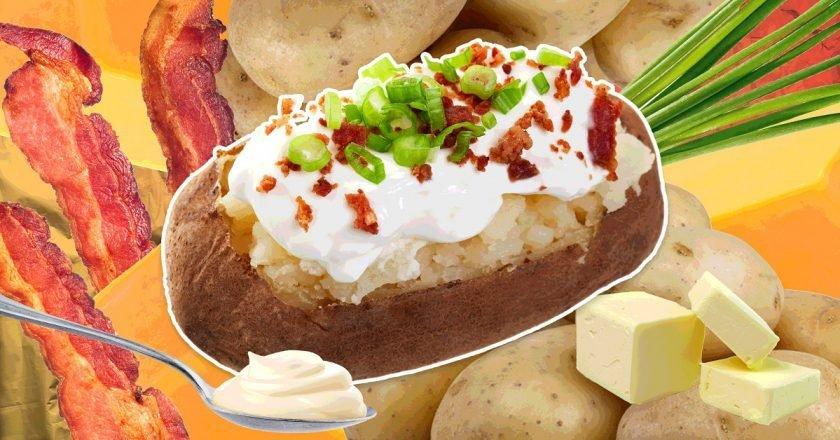 рецепты запеченного картофеля