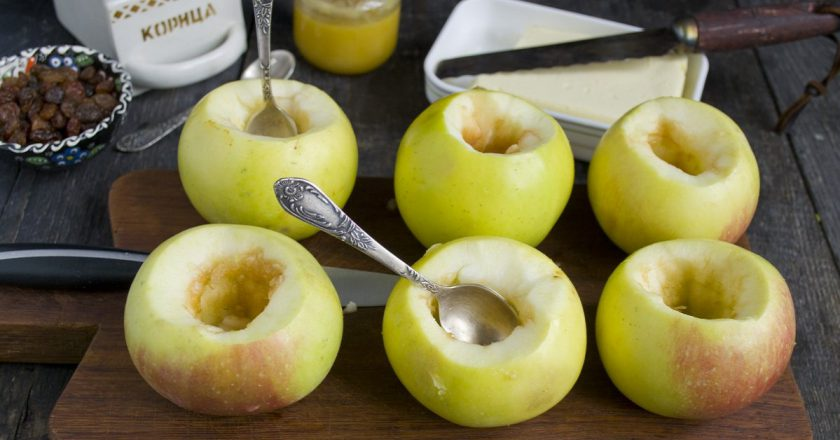 Рецепты запеченных яблок