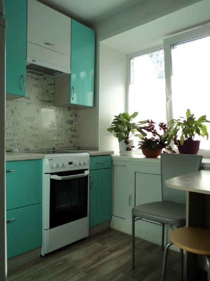 Сделать ремонт на маленькой кухне своими руками фото 384