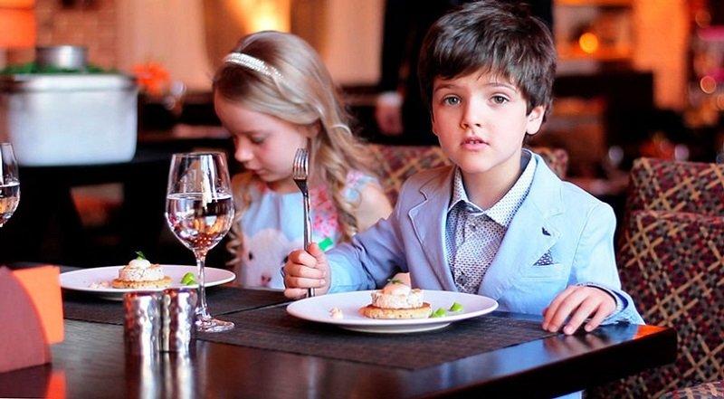 ресторан без детей