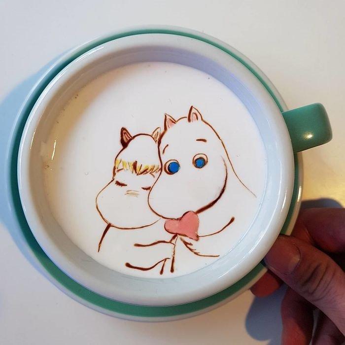 кофейное искусство