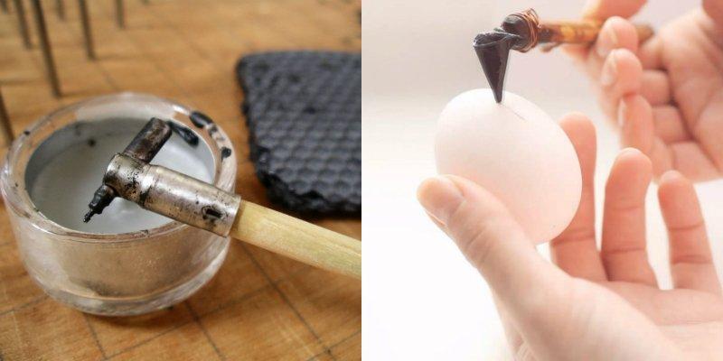 инструмент для росписи яиц воском