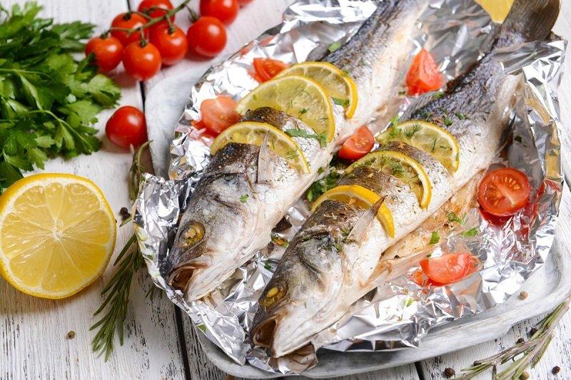 pieczone ryby