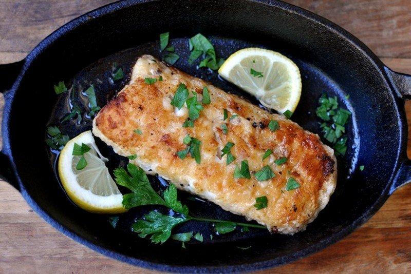 Рыба а-ля меньер