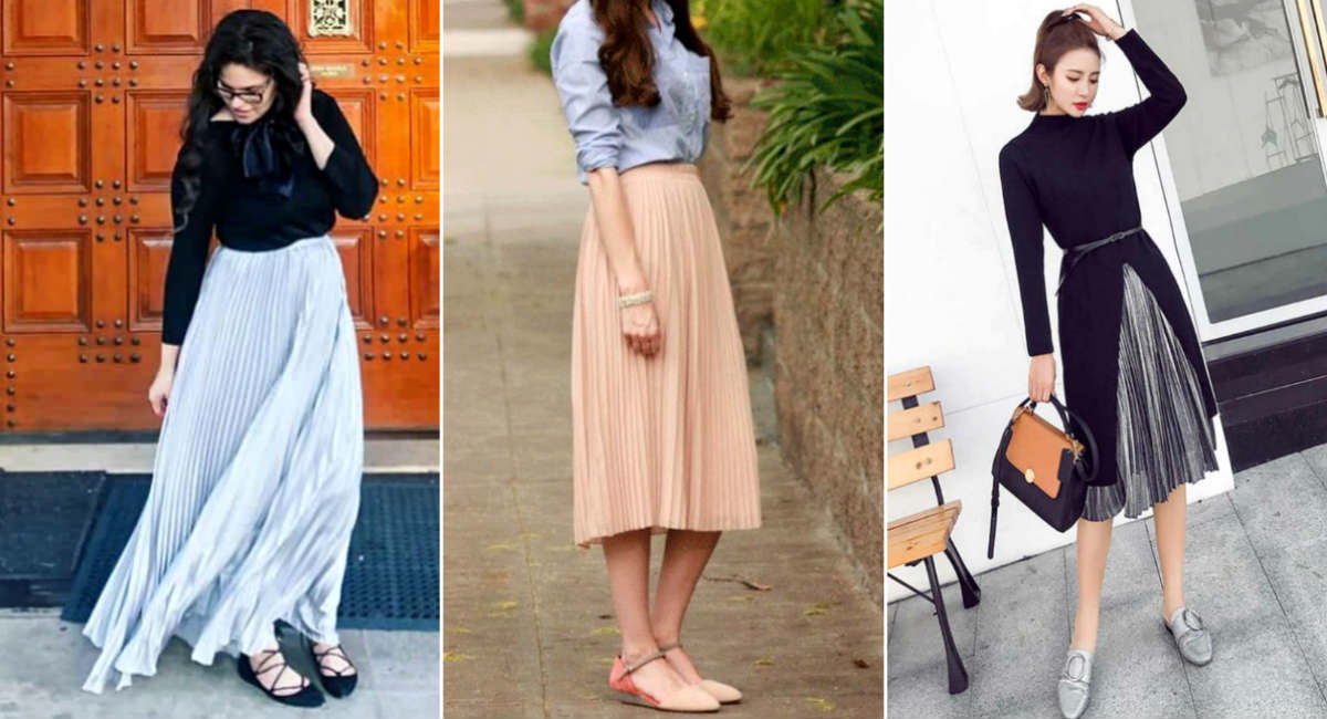 какой длины должна быть юбка плиссе