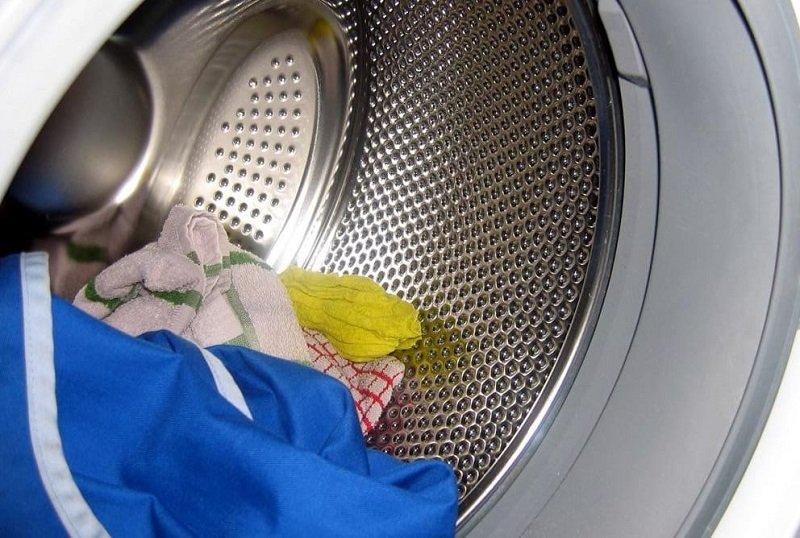 стирка солью в стиральной машине