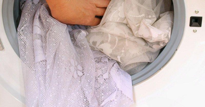 сахар для стирки тюлевой ткани