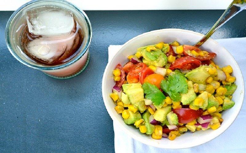 салаты из авокадо