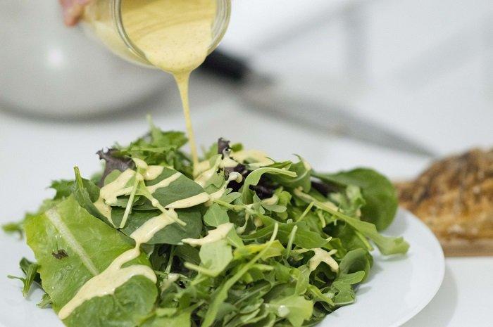 Легкие салаты от Юлии Высоцкой, салат с горчичным соусом